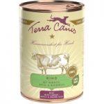 Terra Canis 6 x 400g – Rabbit with Courgette, Amaranth & Wild Garlic