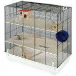 Skyline Fun Area Leon Small Pet Home – White: 67 x 36.5 x 65 cm (L x W x H)