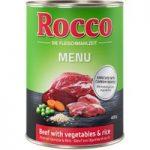 Rocco Menu Saver Pack 12 x 400g – Beef, Lamb, Vegetables & Rice
