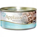 Applaws Cat Food Cans 70g – Tuna / Fish in Broth – Tuna Fillet with Prawn 24 x 70g