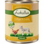 Lukullus Poultry & Lamb – Grain-Free – 6 x 800g