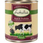 Lukullus Beef & Turkey – Grain-Free – 6 x 400g
