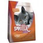Smilla Dry Cat Food Economy Packs 2 x 4kg – Adult XXL with Poultry