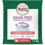 Nutro Cat Grain-Free Adult – Salmon & Whitefish – 1.4kg