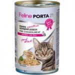 Feline Porta 21 – 6 x 400g – Whole Tuna with Shrimps