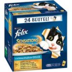 Felix Sensations 24 x 100g – Fish in Jelly