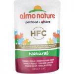 Almo Nature HFC Pouches Saver Pack 24 x 55g – Tuna & Chicken