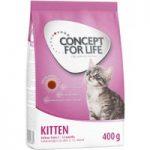 Kitten Starter Kit: 400g Concept for Life Dry Food + 12 x 85g Wet Food – Concept for Life Kitten Dry & Wet in Gravy