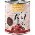 zooplus Classic Saver Pack 24 x 800g – with Game & Beef
