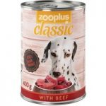 zooplus Classic Saver Pack 24 x 400g – with Beef
