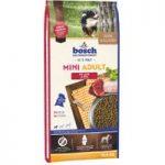 bosch Mini Adult Lamb & Rice Dry Dog Food – Economy Pack: 2 x 15kg