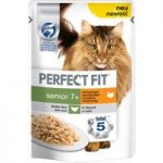 Perfect Fit Senior 7+ Pouches – Turkey & Carrot in Sauce – 12 x 85g