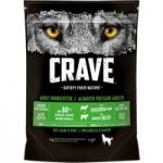 1kg Crave Adult Dry Dog Food – 2 + 1 Free!* – Turkey & Chicken (3 x 1kg)