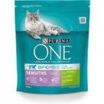 Purina ONE Sensitive Turkey & Rice Dry Cat Food – Economy Pack: 2 x 3kg