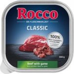 9 x 300g Rocco Classic Trays Wet Dog Food – Special Price!* – Beef with Game